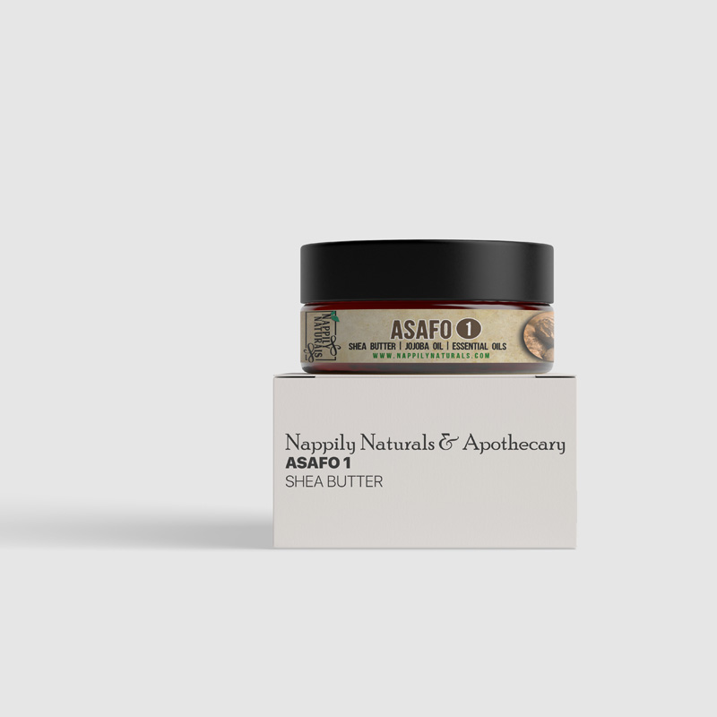 asafo 1 - whipped body butter