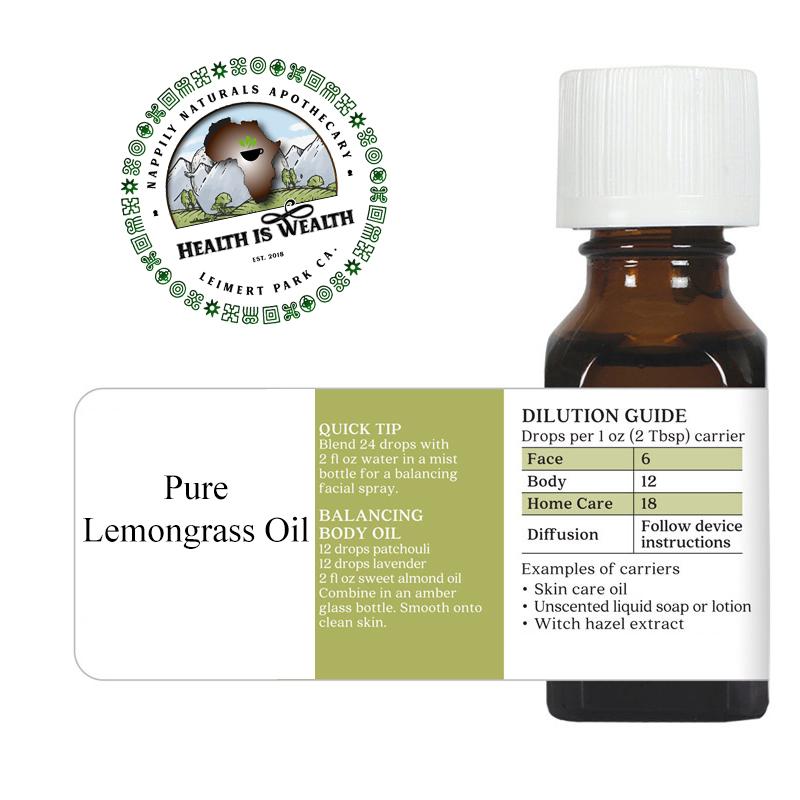 Lemongrass Essential Oils